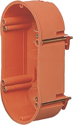 Hohlwanddose doppelt f.Kombinationen D.2x68mm T.47mm IP30