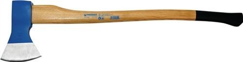 Holzaxt 1400g Rheinische Form Stiel-L.800mm PROMAT lackiert