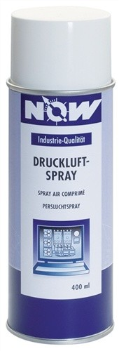 Druckluftspray 400ml 4bar NOW ozonneutral