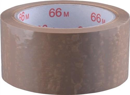 Verpackungsklebeband Länge 66m Breite 50mm braun PVC-Folie