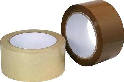 Verpackungsklebeband Länge 66m Breite 50mm transparent PP-Folie Acrylatklebstoff