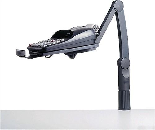 Telefonschwenker schwarz 360Grad drehbar höhenverstellbar