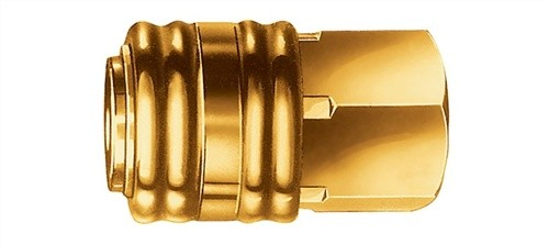 Einhandkupplung G3/8Zoll IG. a.Ms.
