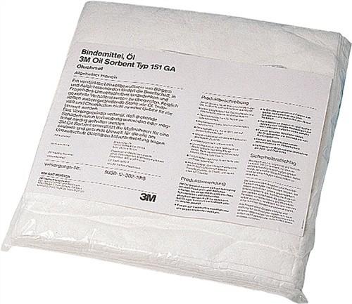 Ölbindevlies T151GA L.480xB.430mm bindet max.0,5l/Tuch 3M