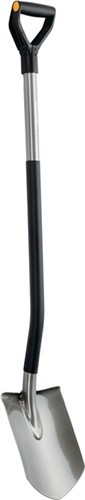 Gärtnerspaten spitz Länge 124,5cm D-Griff