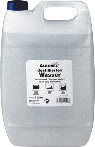 Destilliertes Wasser 5l Kanister