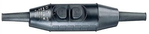 Personenschutzschalter Ein-/Austasten IP55 f.1-2,5mm2 o.Kabel
