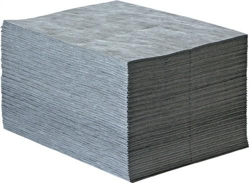 Universalbindevlies grau L.400xB.500mm bindet max.97l/VE 100