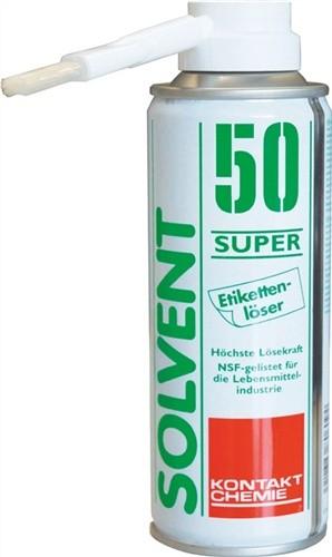 Etikettenlöser 200ml Solvent50Super i.Spraydose