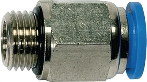 Einschraubsteckverbinder G1/2Zoll A Außen-D.8mm gerade