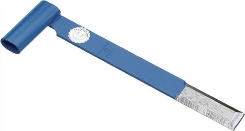 Stichaxt CV.Ges.-L.450mm 3-schneidig B.45mm OCHSENKOPF blau lackiert