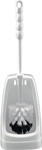 WC-Garnitur weiß Kunststoff Bürste ohne Spülrandreiniger