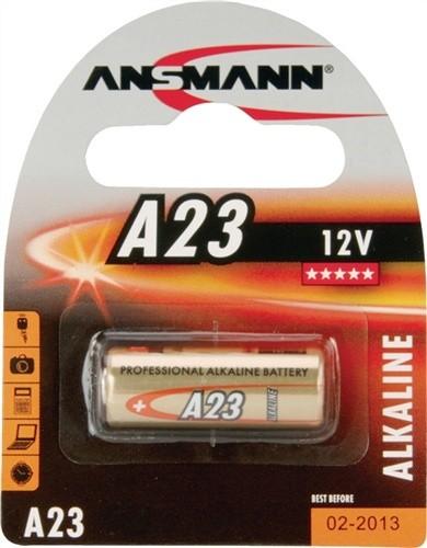 Batterie 12V Alkaline L.28mm D.10mm A23