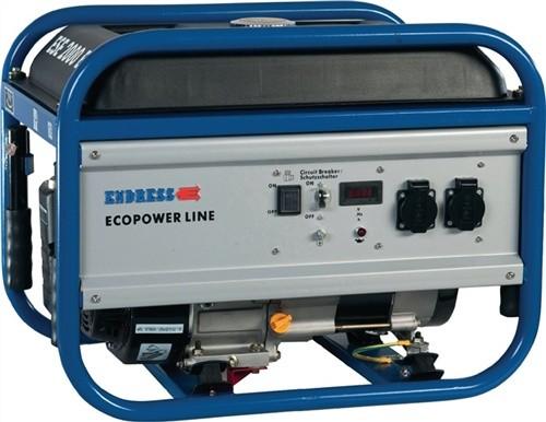 Stromerzeuger ESE 3000 BS synchron/2,5kVA/2,5kW/Benzin/6,5HP
