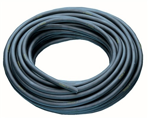 Gummileitung H07RN-F 3x1,5mm2 L.50m schwarz f.innen u.außen