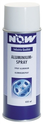 Aluminium-Spray 400ml NOW abriebfest +300 Grad C