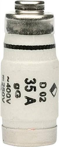 Sicherungspatrone 35A Neozed E18 500V träge E27/DTII