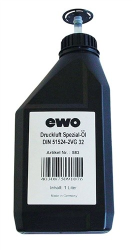 Druckluft-Spezial-Öl 1l DIN51524-2 EWO