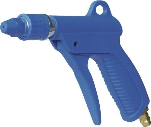 Kunststoff-Blaspistole blau DN 7,2 mit Luftspardüse regulierbar
