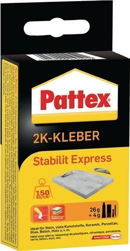 2Komponentenkleber 30g Stabilit-Expr. PSE13 Pattex HENKEL b.250kp/cm3