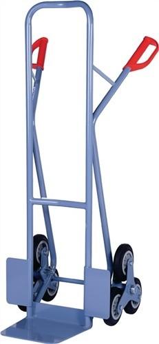 Treppenkarre m.Radstern Trgf.200kg Vollgummiräder PROMAT Rad-D.160mm