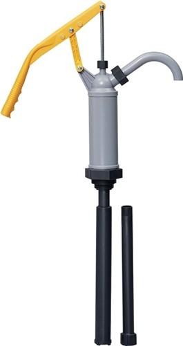 Handhebel Fasspumpe PP, Teleskopsaugrohr 400-900mm 16L./min. für Kerosin,Diesel,
