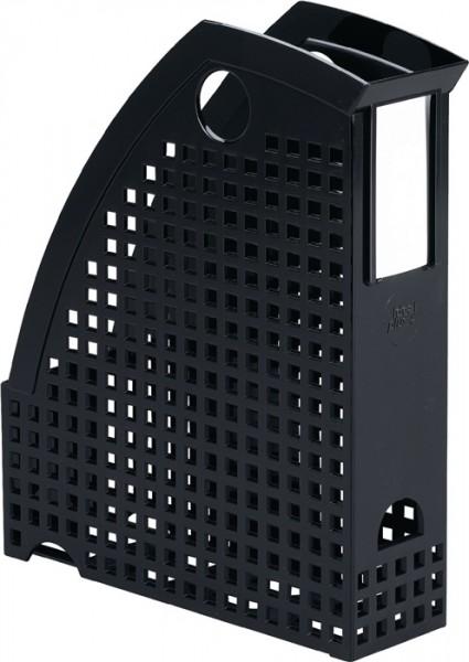 Stehsammler schwarz f. Format DIN A4 B74xT244xH305 mm
