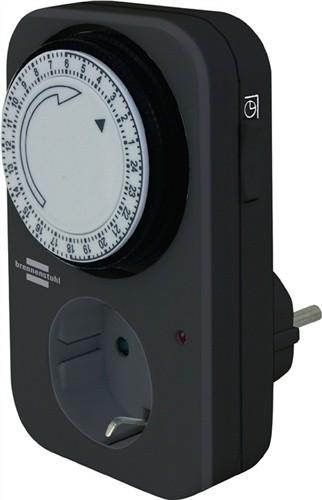 Zeitschaltuhr mechanisch 230V IP44 B.60xH.105xT.70mm REV f.Innenbereich