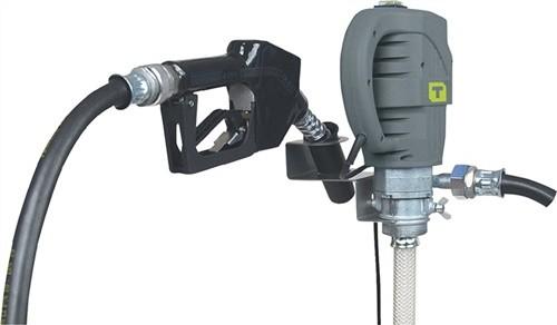 Elektropumpe f. Diesel, Heizöl Tauchtiefe 1600 mm 68 l/min Automatik-Zapfventil