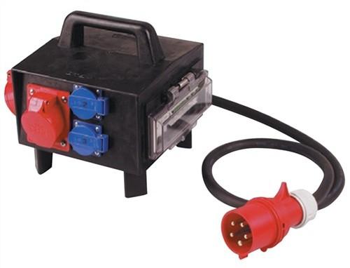 Standstromverteiler IP44 2xCEE 32/16A L.2m H07R-F 56mm2 VOTHA m.FI