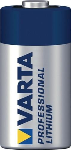 Spezialbatterie 3V 1600mAh CR123A 34,5x17mm VARTA Lithium