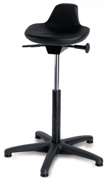 Stehhilfe PU-Sitz B.350xT.230mm Sitz-H.590-840mm m.Sitzneigung