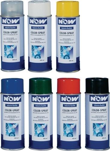 Colorspray 400ml reinweiß RAL9010 seidenmatt NOW f.Metall/Holz