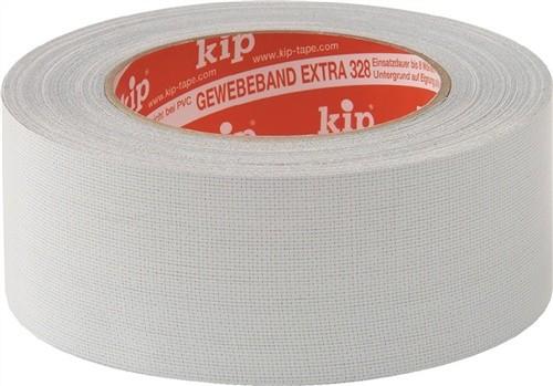 Gewebeklebeband Länge 25m Breite 19mm grau