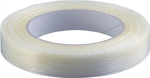 Filamentband Länge 50m Breite 19mm transparent PP-Folie