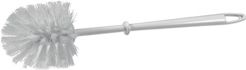 WC-Bürste weiß Kunststoff Rundkopf D.90mm