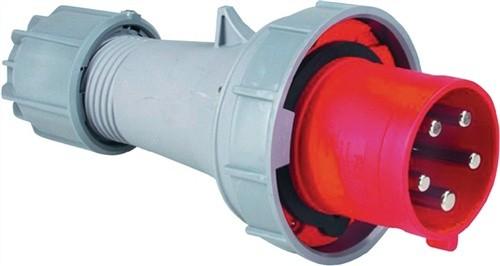 CEE-Stecker 63A 400V 6h 5polig IP44