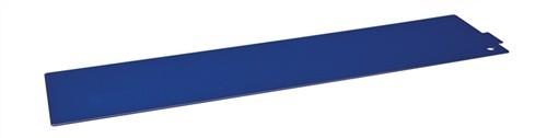 Regalelement Trennblech für Logs 40 LOGS 41 H95xT392mm Blau Ral 5022