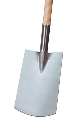 Rohrdüllspaten Gärtner Form Blattmaß 290x180mm Größe 2